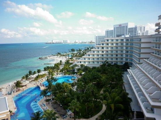Hotel Riu Caribe: Hermosa vista desde el balcón de la habitación