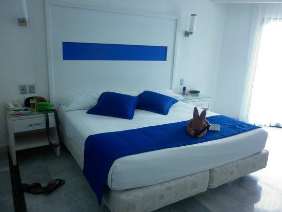 Hotel Riu Caribe: lindo detalle al llegar al habitacion