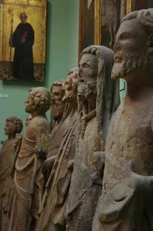 Valencia Cathedral : Exhibición en el museo interior de la catedral