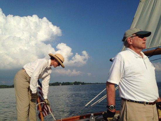 Sail Selina II: Great crew