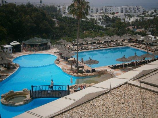Royal Mirage Agadir Hotel : A view