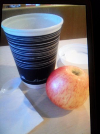 St Giles London - A St Giles Hotel : soft apple and cup of tea