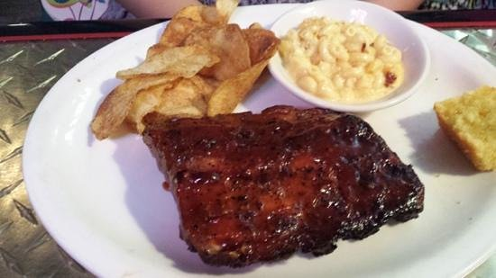 One Hot Mama's American Grille: Rib Platter