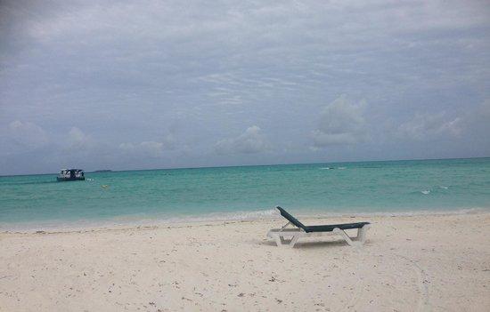 Meeru Island Resort & Spa : View from the Maalan restaurant