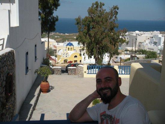 Anatoli Hotel : Vista desde el balcón de la habitación.