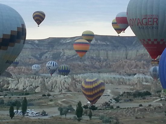 Dervish Cave House : AM Hot Air Balloon Ride