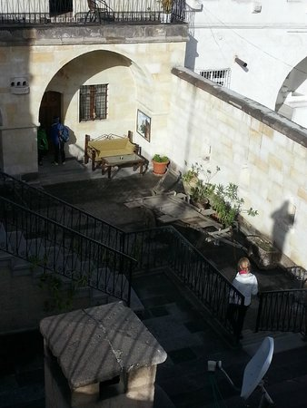 Dervish Cave House: Courtyard leading to Family Suite.