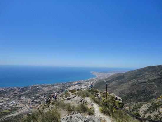 Teleferico Benalmadena : point vue de la haut