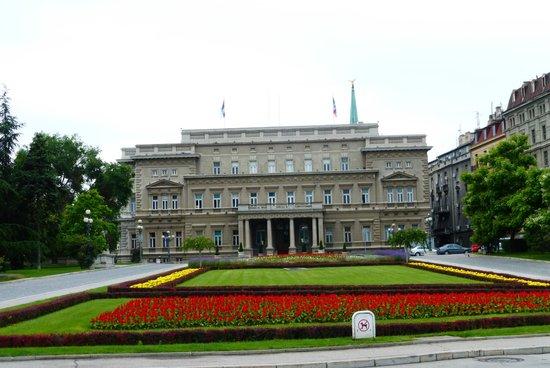 Il vecchio palazzo reale di belgrado picture of 88 rooms for Hotel belgrado