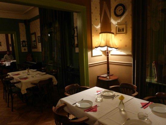 Restoran Jevrem: La sala