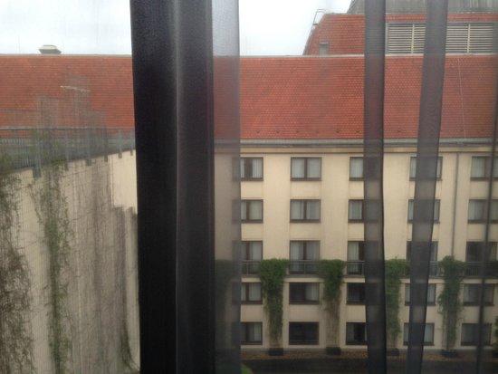 Hilton Berlin : Вид из окна