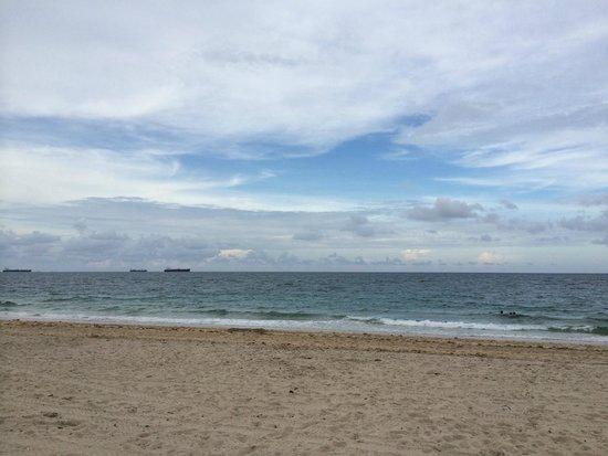 Lago Mar Beach Resort & Club: Vista da Praia