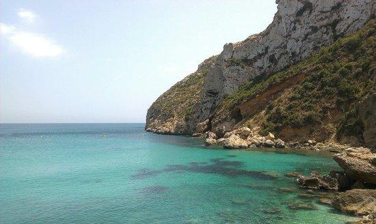 Playa La Granadella: Cala Granadella