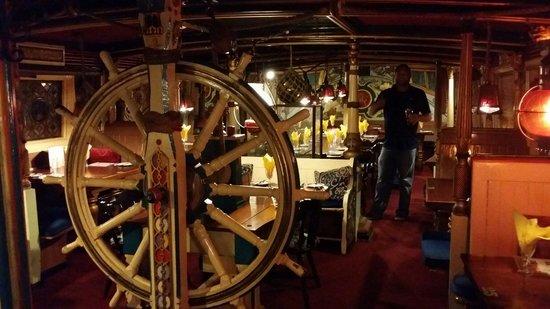 Admiral Benbow: Felt like I was on a ship