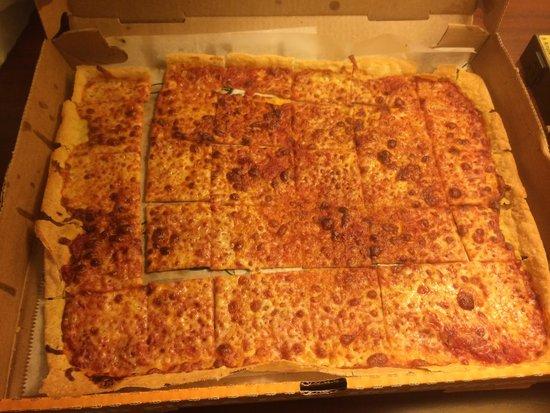 Ledo's Pizza: Actual pizza