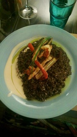 Mechela Restaurante: arroz negro
