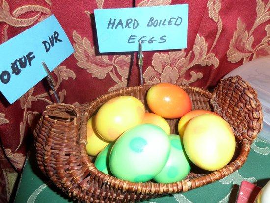 Les Airelles: huevos duros hechos con amor