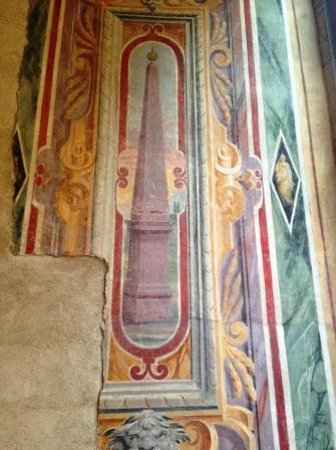 Museo Nazionale Romano - Palazzo Altemps: decorazione a obelischi