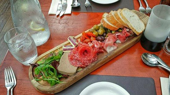 The Black Horse Inn Restaurant : The charcuterie sharing plate