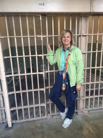 Alcatraz Island: One of the small, cold cells