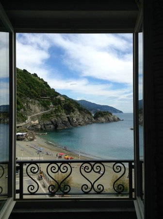 Hotel Pasquale: View from my room.
