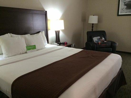 La Quinta Inn & Suites Inglewood: comfy bed and recliner!