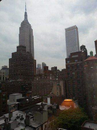 Kitano New York : View from our 14th floor room