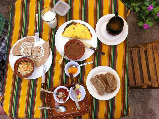 Casa BlatHa: Desayuno