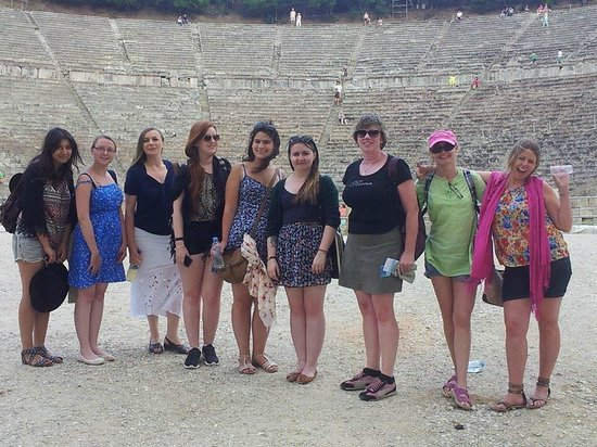 Athens Rent a Minibus - Tours: Most of our group