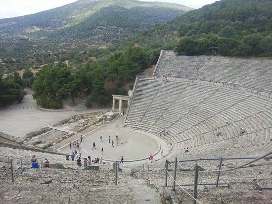 Athens Rent a Minibus - Tours: The Epidauros Theatre