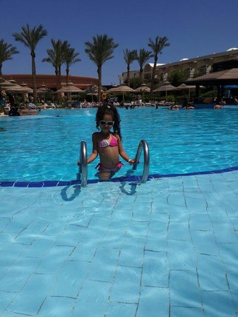 Sierra Sharm El Sheikh : My girl in a beautiful place