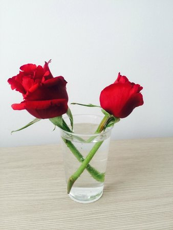 ALEGRIA Mar Mediterrania: We were given red roses on the Friday night in the restaurant!