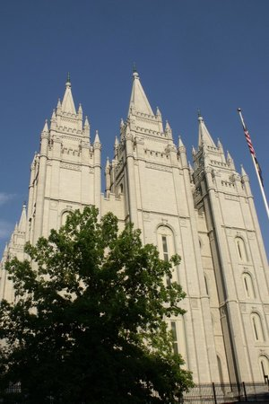 Salt Lake Temple: Truely gorgeous & magnificent building