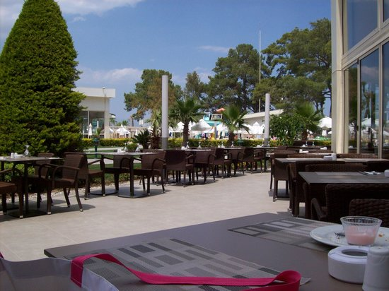 Barut Kemer: lunchtime view