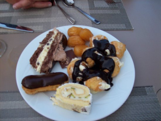 Barut Kemer: just a small sample of deserts on offer