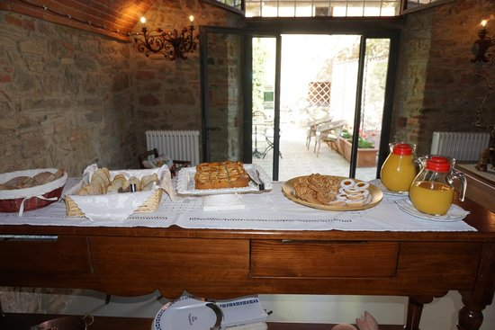 Relais Villa Belpoggio: breakfast