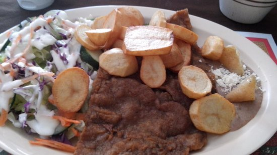Laihoo's Cafe de China: Milanesa de Res