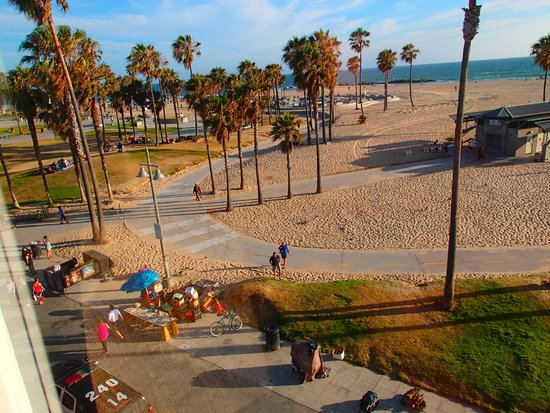 Venice Beach Suites & Hotel: Another view from room.