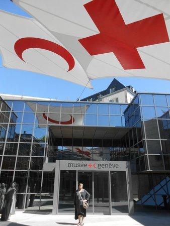 International Red Cross and Red Crescent Museum : entrée du musée