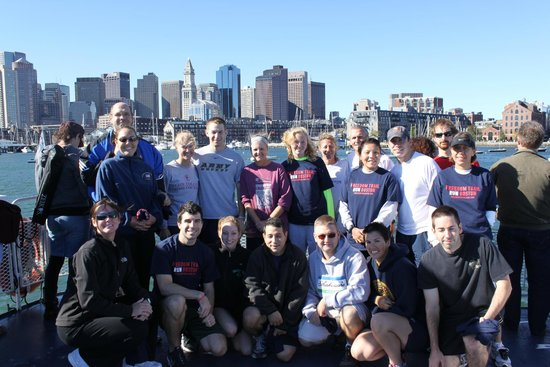Group Photo -  Freedom Trail Runners!