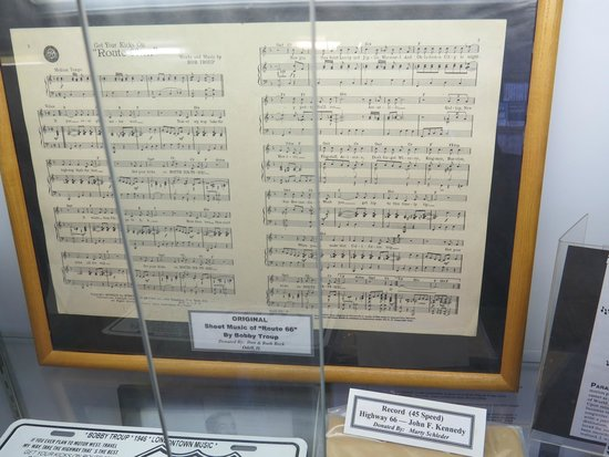 IL Route 66 Association Hall of Fame & Museum : The song that started it!
