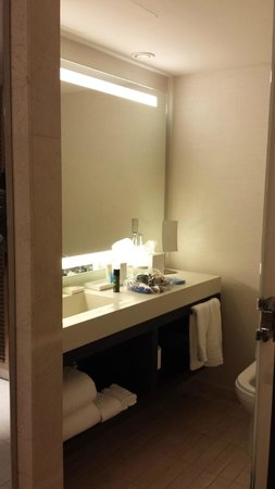 Conrad New York : Bathroom