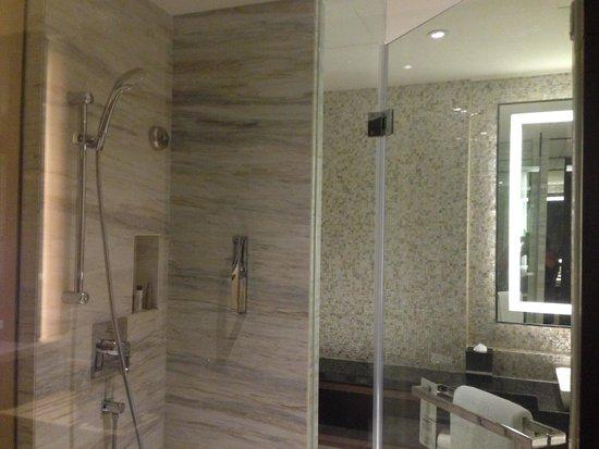 Shanghai Marriott Hotel Pudong East: Bathroom