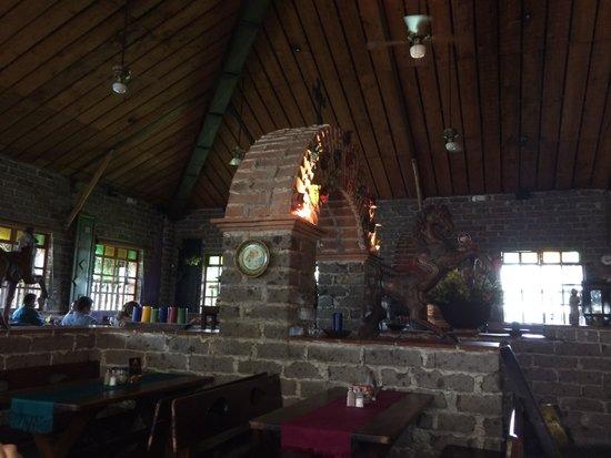 Hacienda Real El Salvador : The dining room