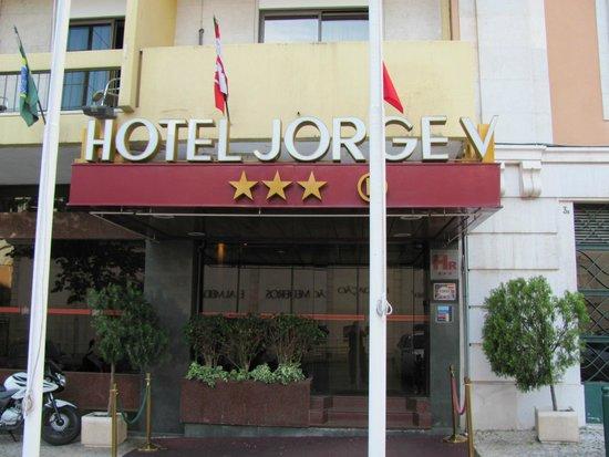 Hotel Jorge V : Hotel facade