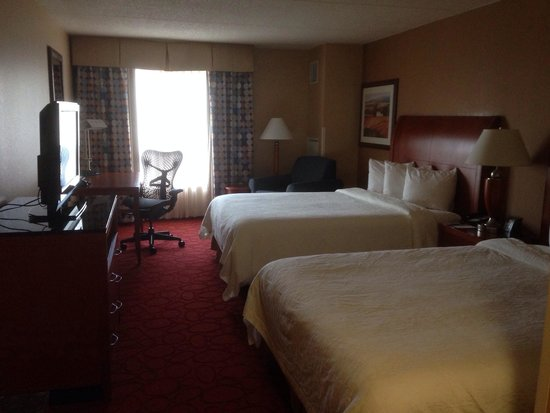 Hilton Garden Inn Chicago O'Hare Airport: Good size room