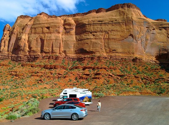 Goulding's Lodge & Campground : Mesa beside the hotel