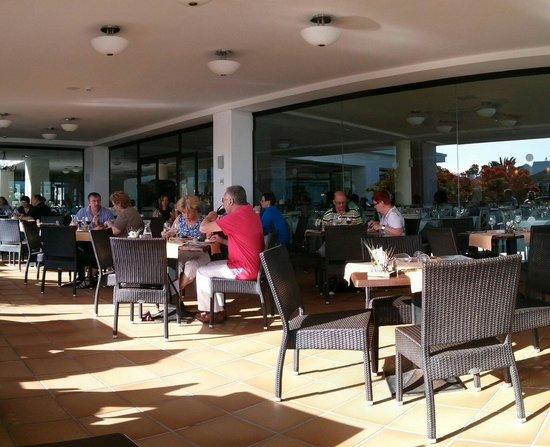 Albatros Club: Terrasse