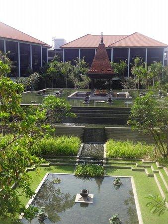 Fairmont Sanur Beach Bali: View from lobby