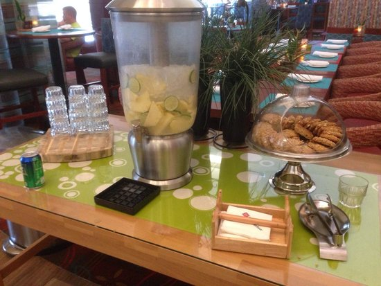 Hilton Garden Inn Chicago O'Hare Airport: They offer lemonade and cookies
